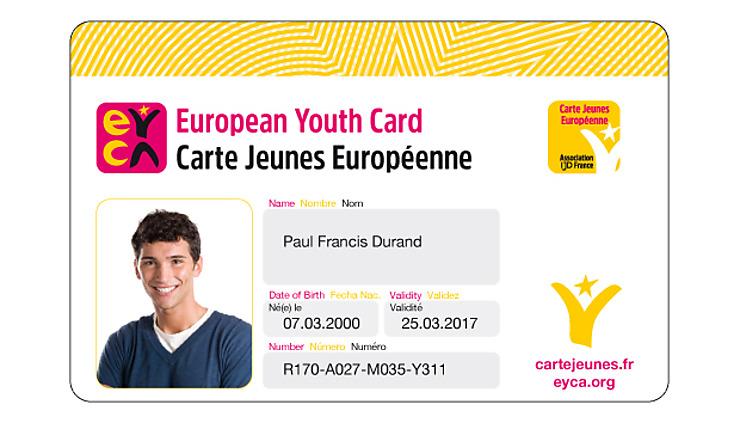 Bon plan - La Carte Jeunes Européenne débarque en France