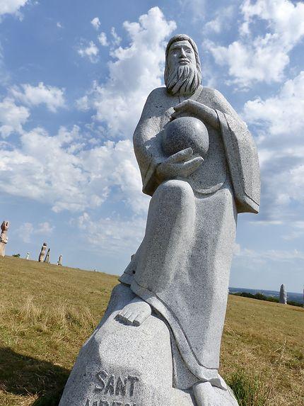Saint Urfol la Vallée des Saint et ses géants