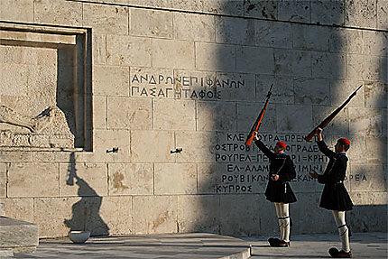Relève de la garde grecque