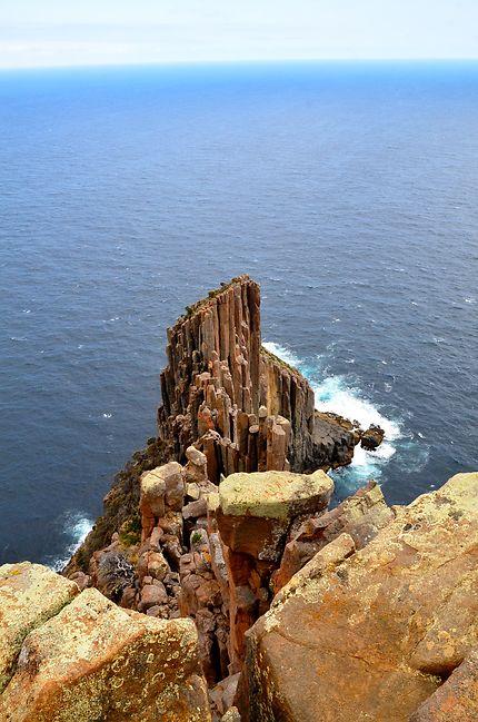En haut du Cape Flury, Tasmanie