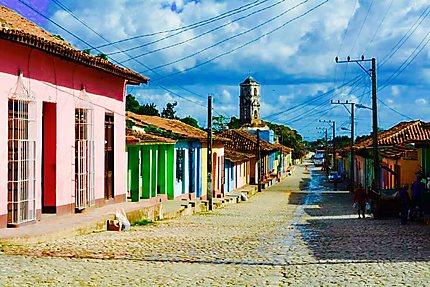 Une ville remplie de couleurs et d'histoire