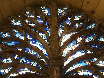 Vitraux dans la Cathédrale de Reims