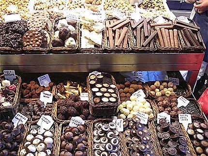 Chocolats à volonté !!