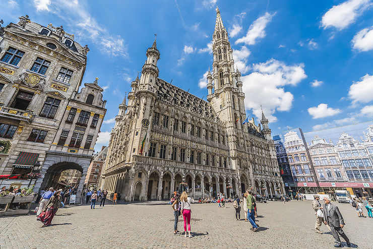 Bruxelles en train - Belgique