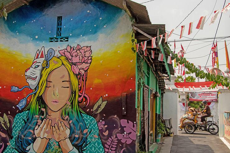 Le quartier du Kraton, Jl. Prawirotaman et Kota Gede