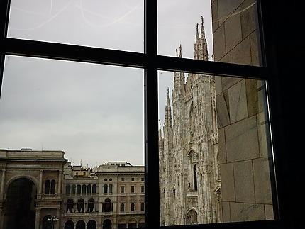 Cathédrale de Milan depuis le Musée