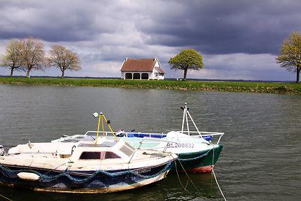 Barque dans la Baie de Somme