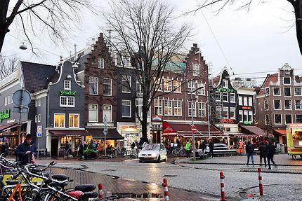 Pluie à Amsterdam