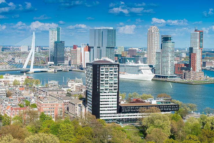 Rotterdam en train - Pays-Bas