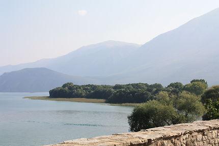 Lac de Prespa, en Macédoine