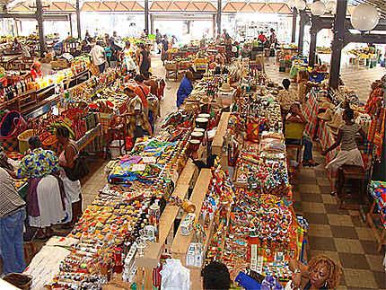 Le marché couvert de Fort de France