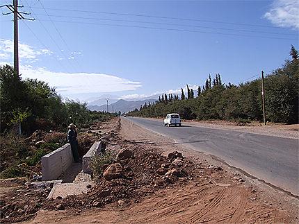 Sur la route de la vallée de l'Ourika