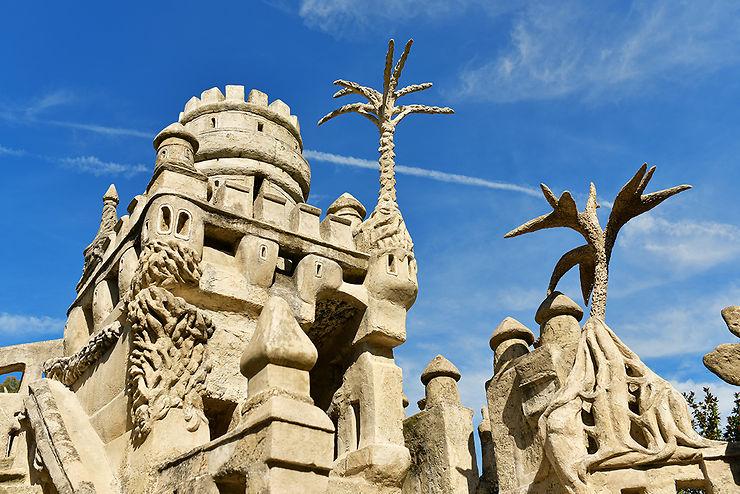 La Tour de Barbarie et ses palmiers de pierre