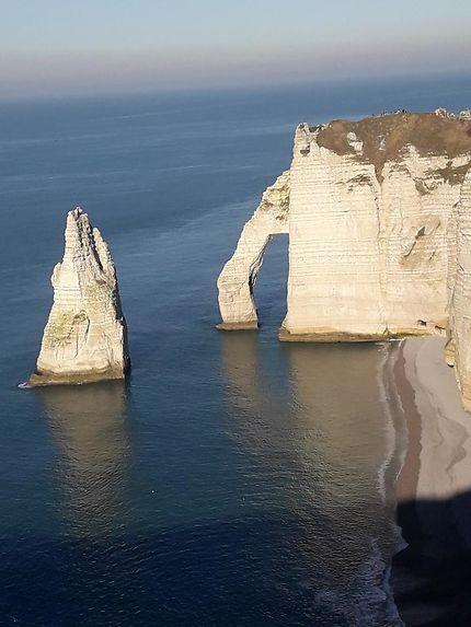 La magnifique falaise d'Aval d'Étretat