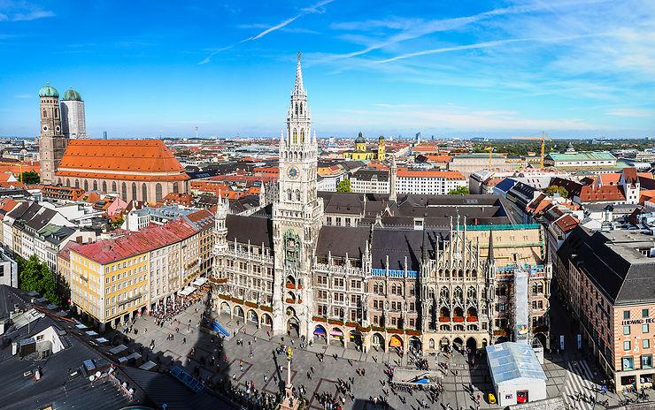 Munich en train - Allemagne