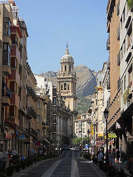 Montée vers la cathédrale, Jaén