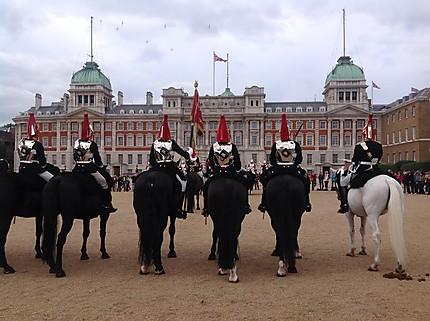 Relève des horse guards