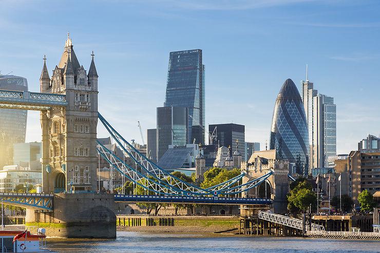 Londres en train - Angleterre