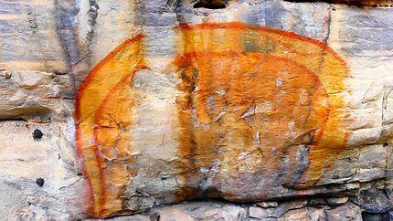 Peintures rupestres, Serpent Arc-en-Ciel