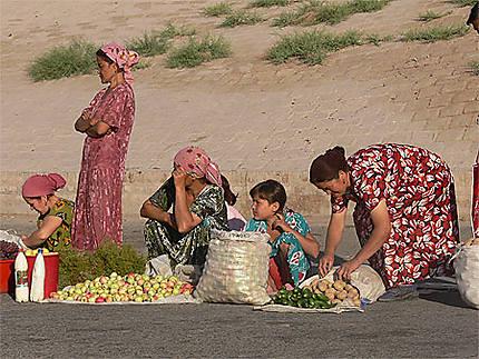 Marché de Khiva