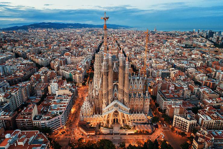 Barcelone en train - Espagne