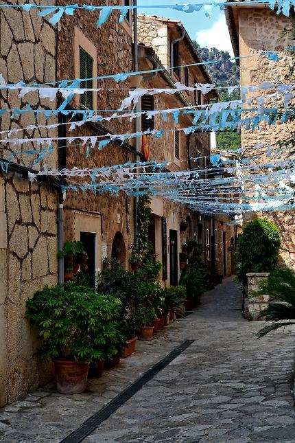 Rue à Valldemosa, Baleares