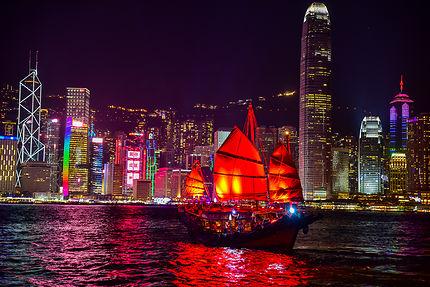 Joncque d'Hong Kong