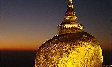 Kyaik-Hti-Yo (Rocher d'Or)