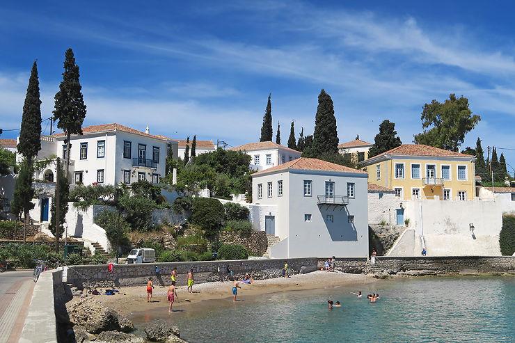 Spetses, une île grecque au parfum de vacances