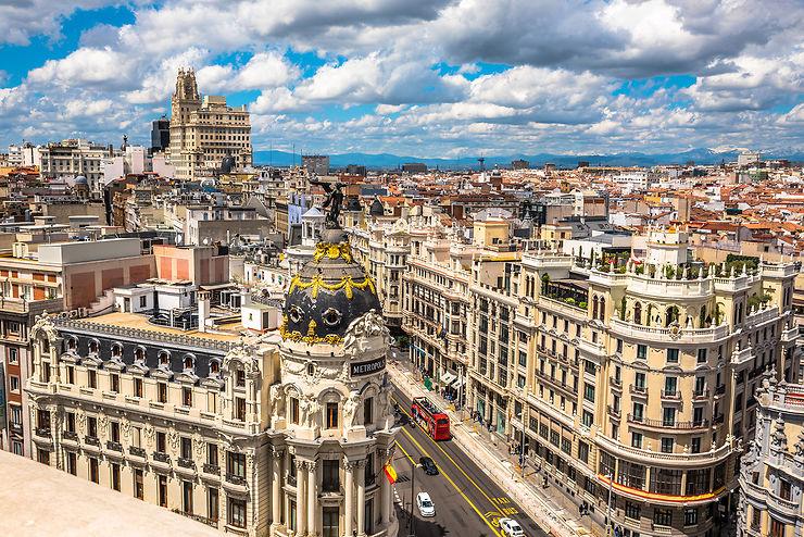 Madrid en train - Espagne