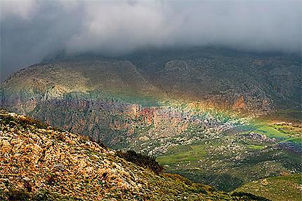 Les montagnes du Sud de la Crète