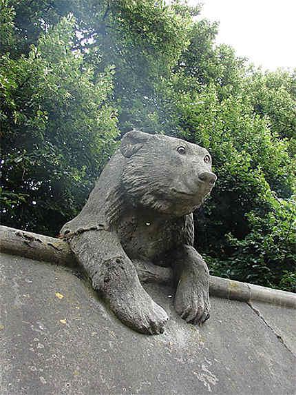Sculpture d'enceinte du château de Cardiff