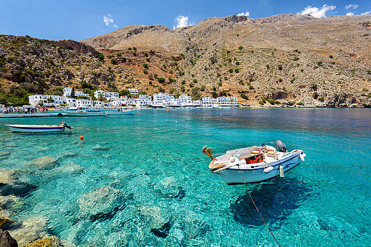 La Crète, version rando
