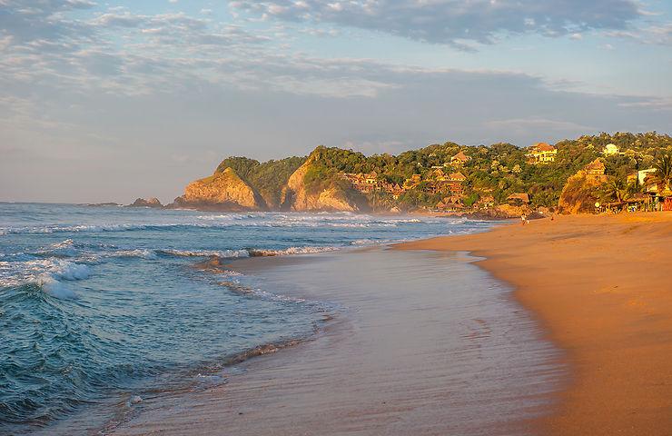 Mexique, les plages du Pacifique