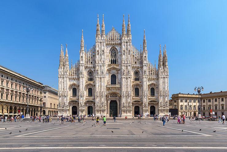 Milan en train - Italie