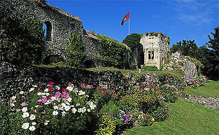 Ruines du château, Fécamp