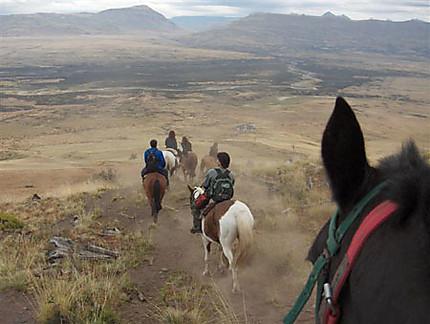 Chevauchée en Patagonie