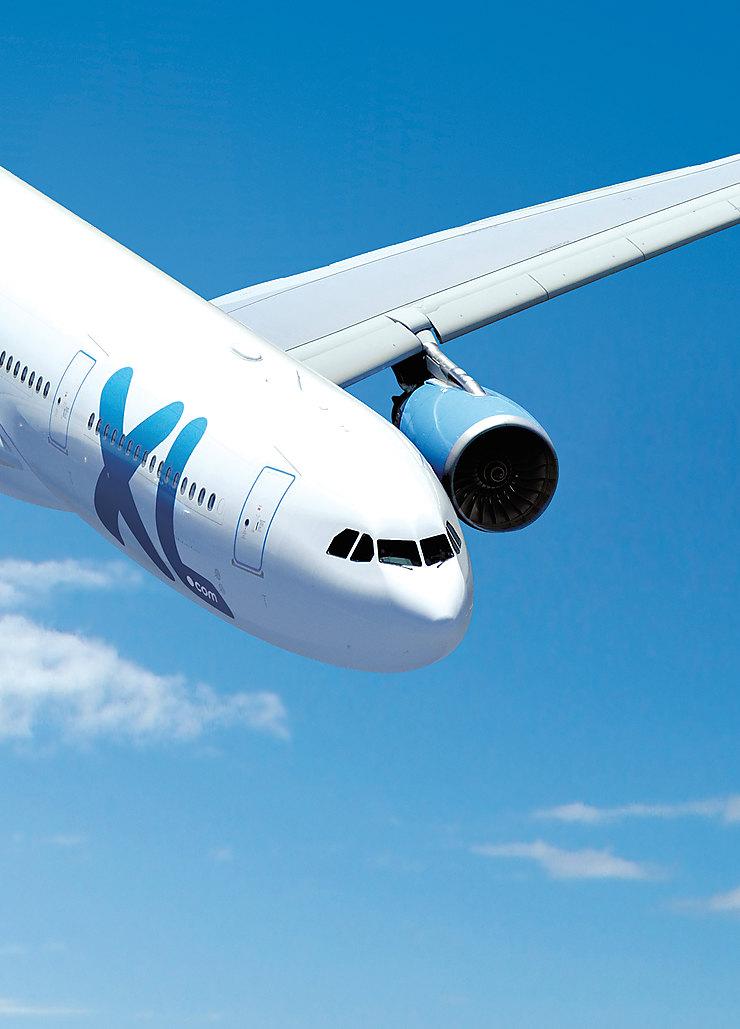 Aérien - La Réunion et la Martinique au départ de Toulouse avec XL Airways