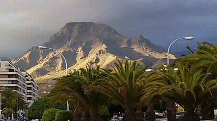 La montagne de Los Critianos
