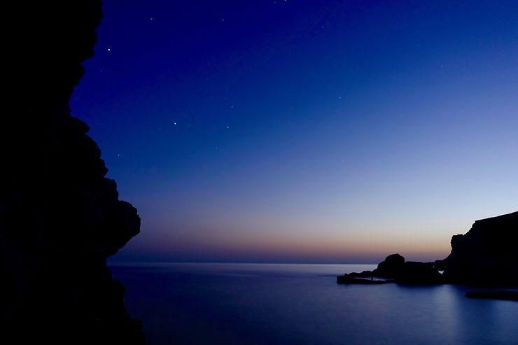 Folégandros - la nuit, Grèce