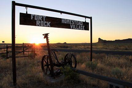 Route de Fort Rock, en Oregon