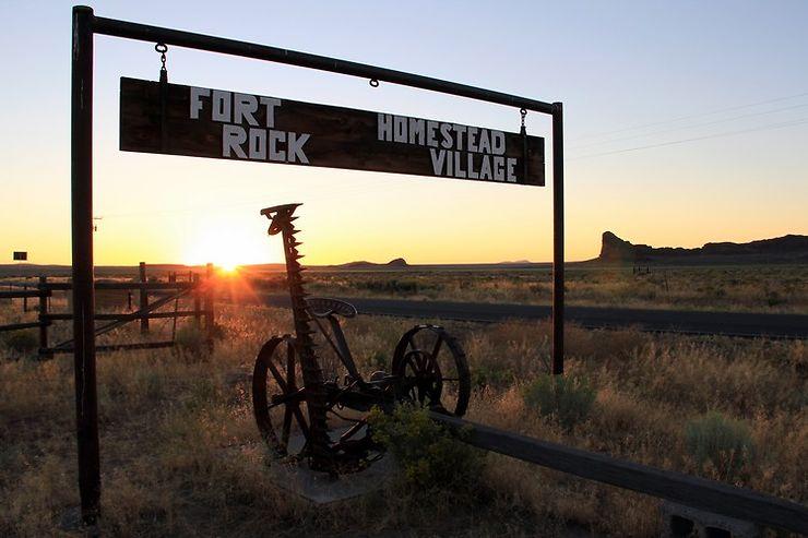 Route de Fort Rock, Oregon