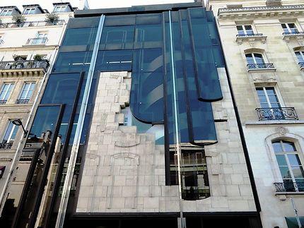 Immeuble célèbre de l'avenue Matignon