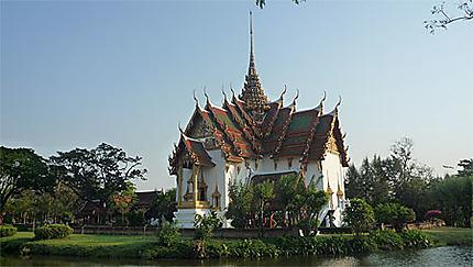Temple dans le vieux Bangkok