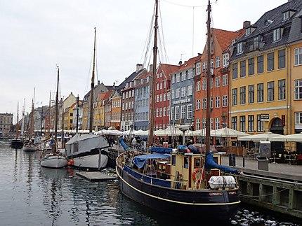 Quartier de Nyhavn à Copenhague