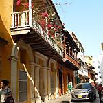 Balcon de la vieille ville de Cartagena