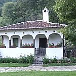 Maison serbe traditionelle à Lepenski Vir