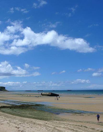Arromanches 2, la plage du débarquement