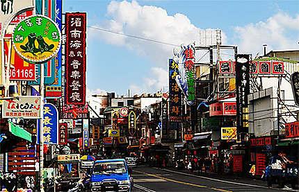 Kenting (Taiwan sud) rue principale
