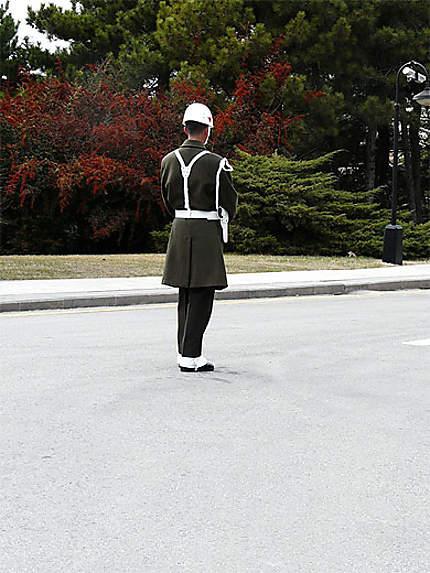 Garde du Mausolée d'Ataturk